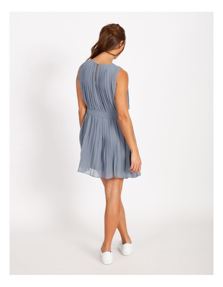 Pleated Mini Shift Dress image 4