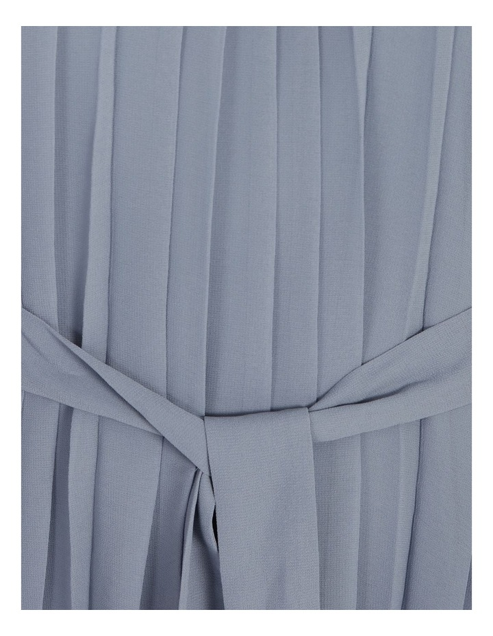 Pleated Mini Shift Dress image 6