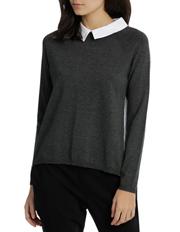Tokito Petites - Shirt Back And Collar 2-For Knit