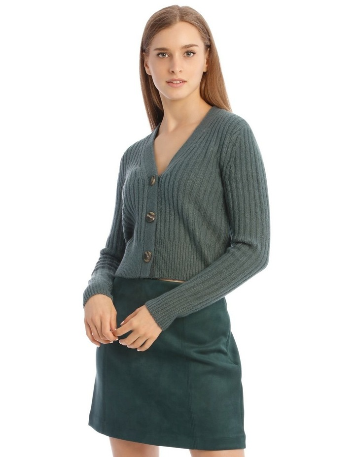 Long Sleeve Buttoned Cardigan image 1