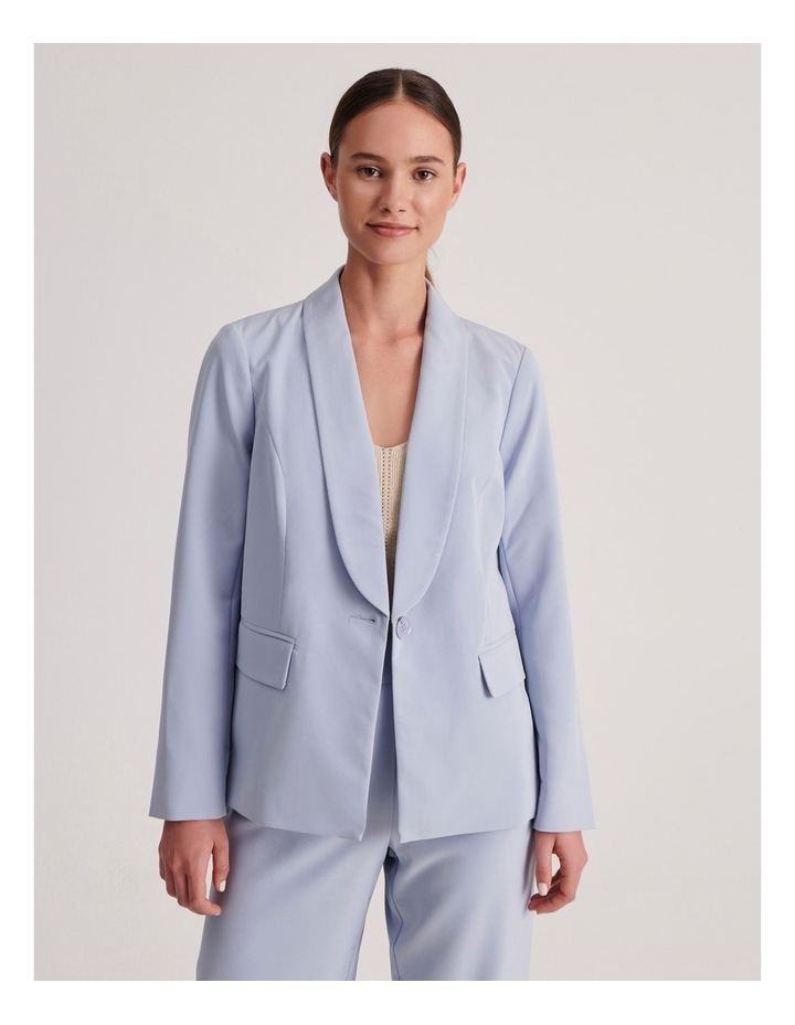 Petites Tailored Single Button Blazer image 1