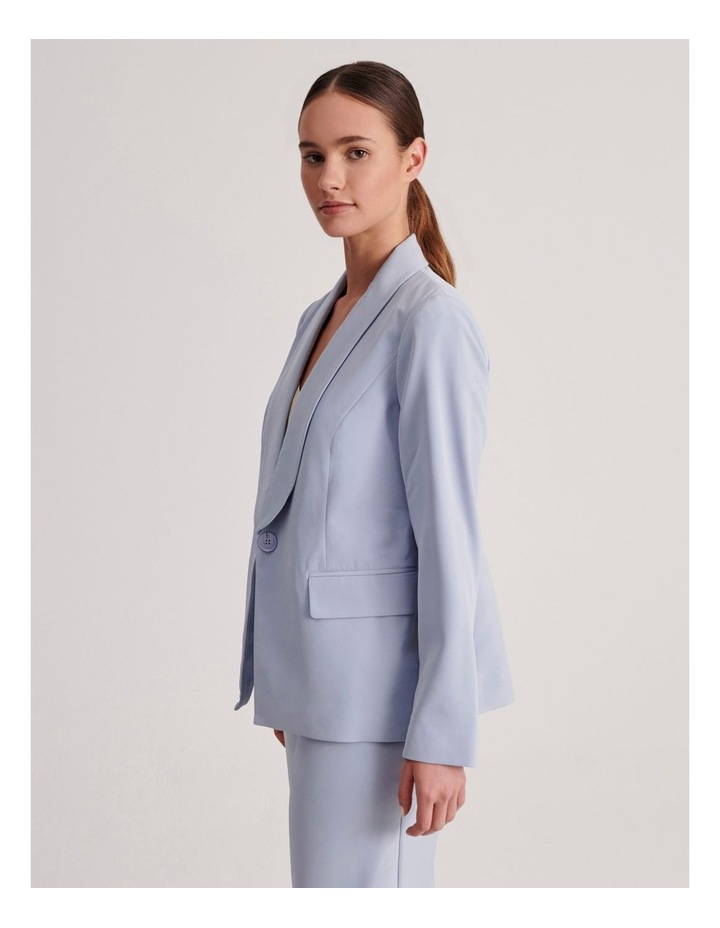 Petites Tailored Single Button Blazer image 3