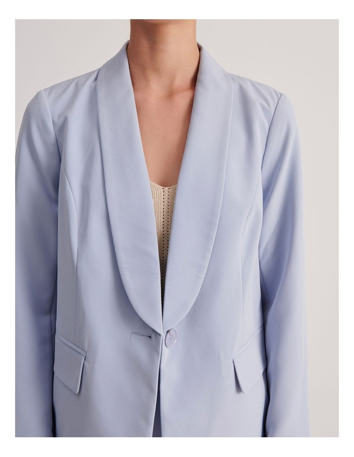 Petites Tailored Single Button Blazer image 5