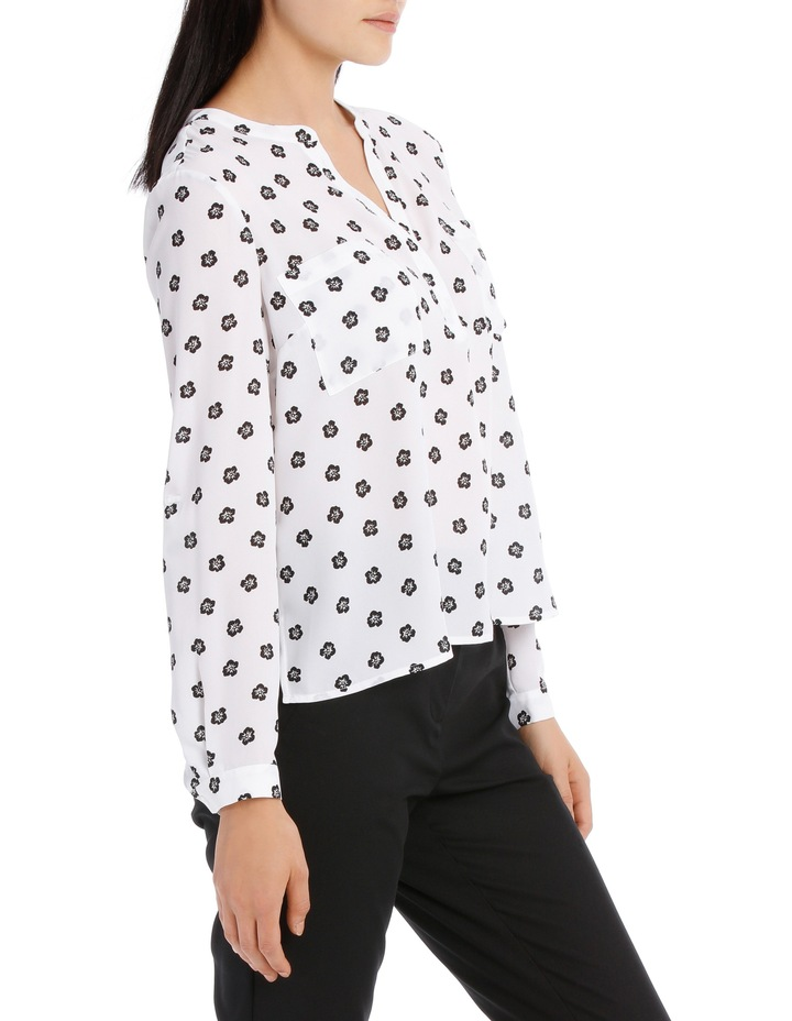 Double Pocket Roll Sleeve Shirt - Poppy Spot image 2