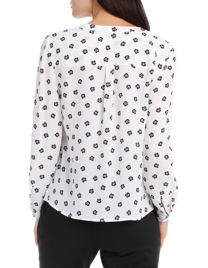 Double Pocket Roll Sleeve Shirt - Poppy Spot image 3