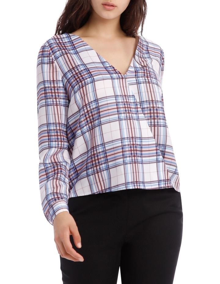 Wrap Shirt - Check image 1