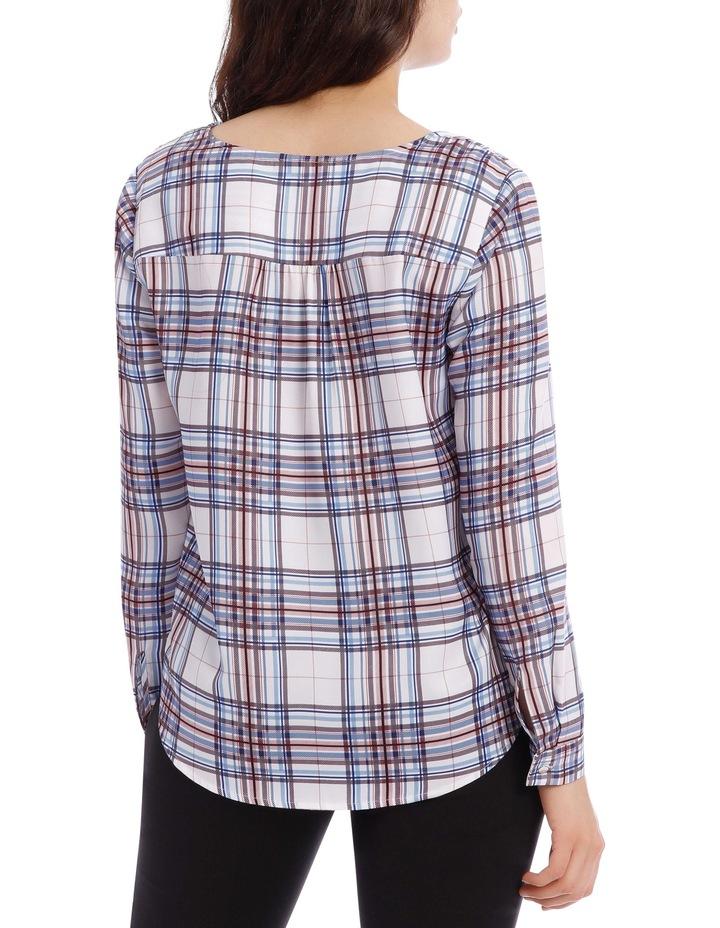 Wrap Shirt - Check image 3