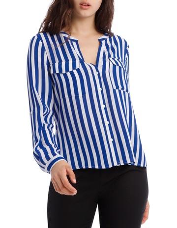 a5328f4b7f0 Tokito PetitesButton Through Shirt - Stripe