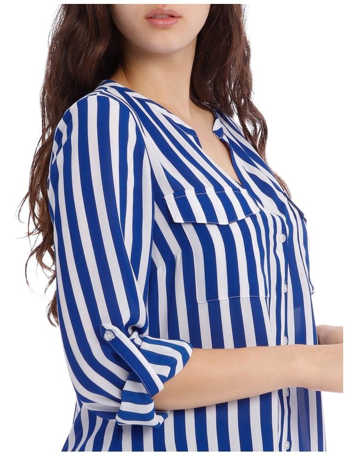 Button Through Shirt - Stripe image 4