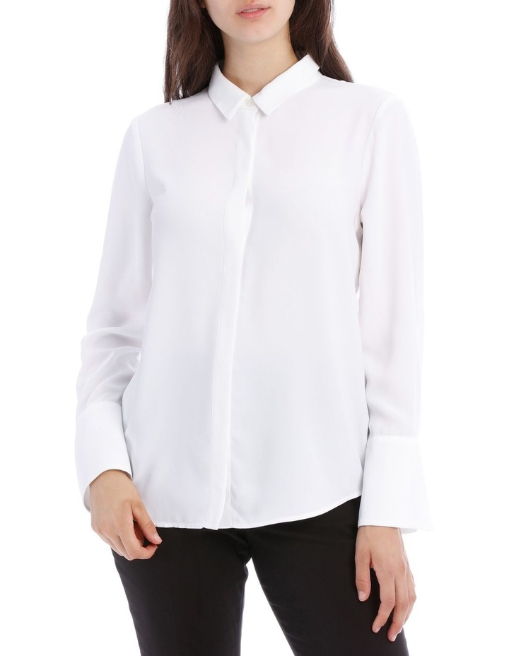 White Work Shirt image 1