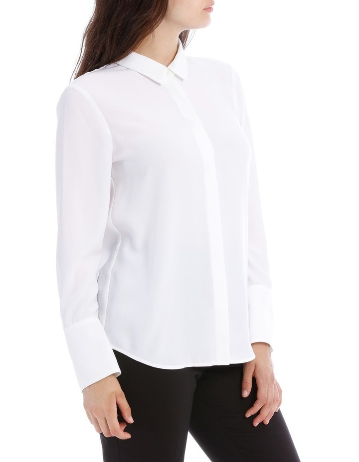White Work Shirt image 2