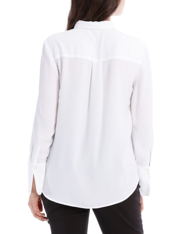 White Work Shirt image 3