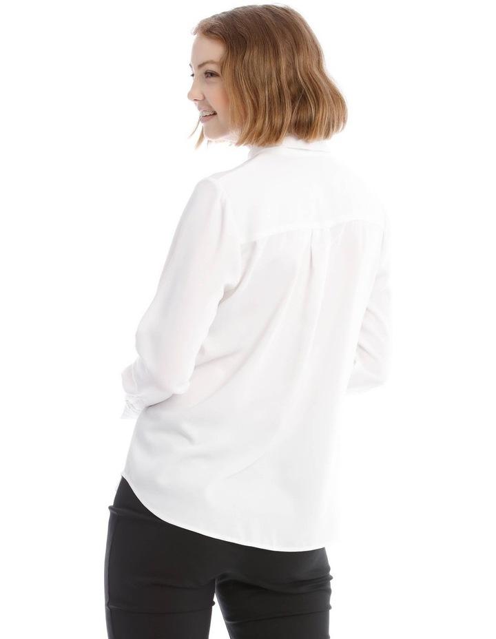 White Work Shirt image 3