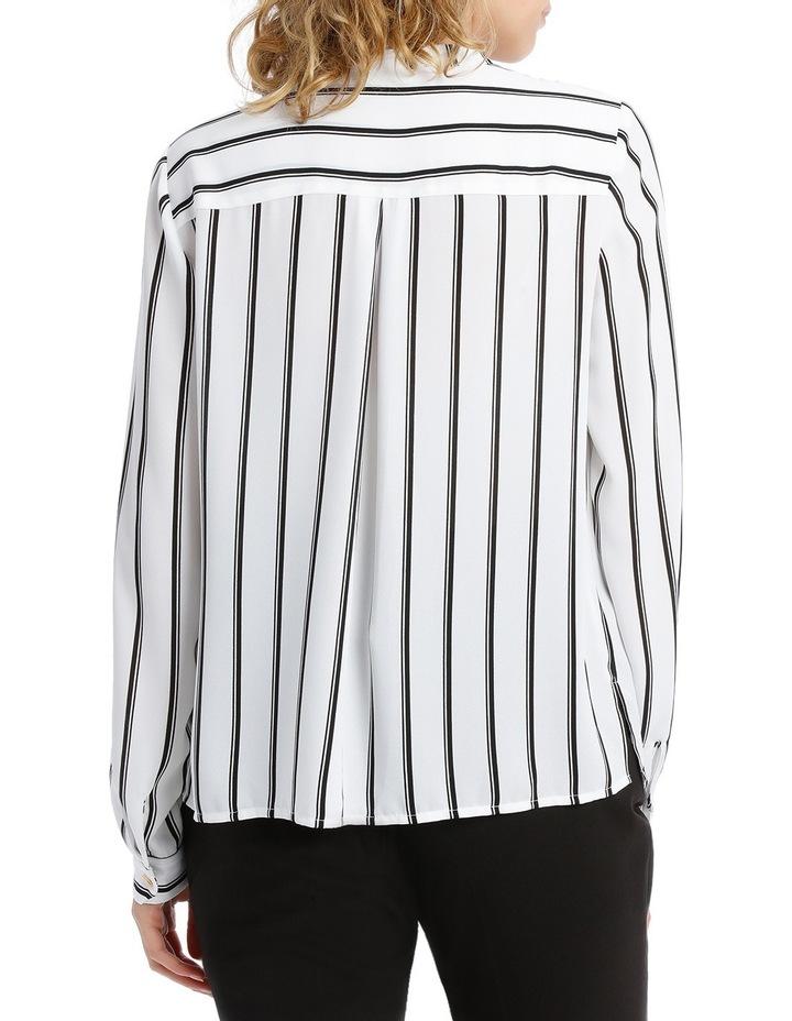 Double Pocket Hardware Shirt - Fine Stripe image 3