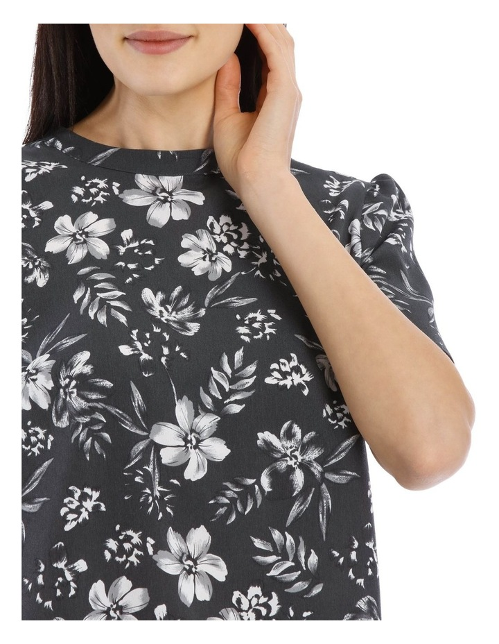 Tropical Floral High Neck Top image 4