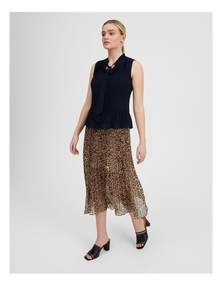 Pleated Tank With Tie image 2