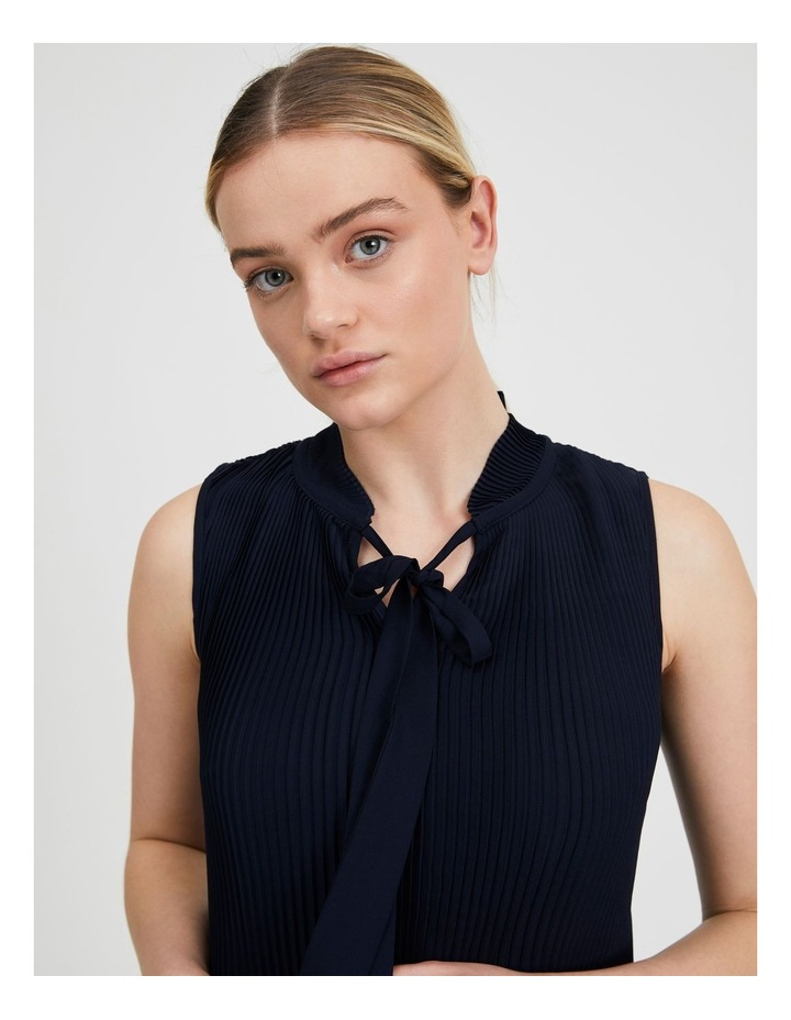 Pleated Tank With Tie image 5