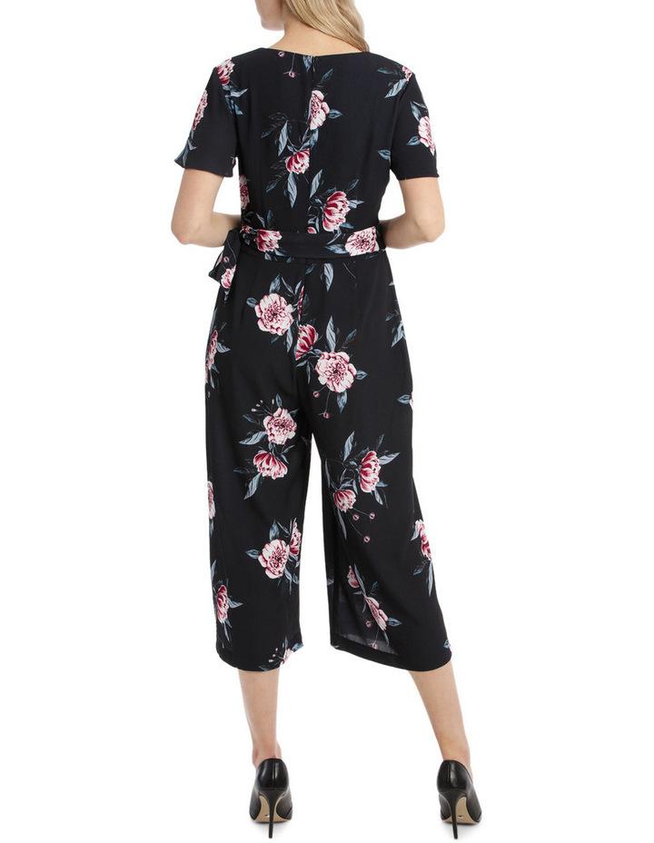 Flutter Sleeve Jumpsuit - Peony Blooms image 3