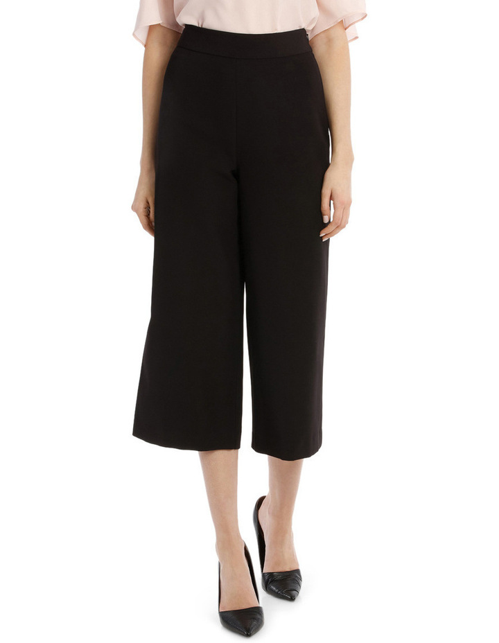 Structured Culotte Pant image 1