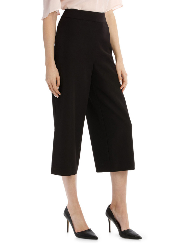 Structured Culotte Pant image 2