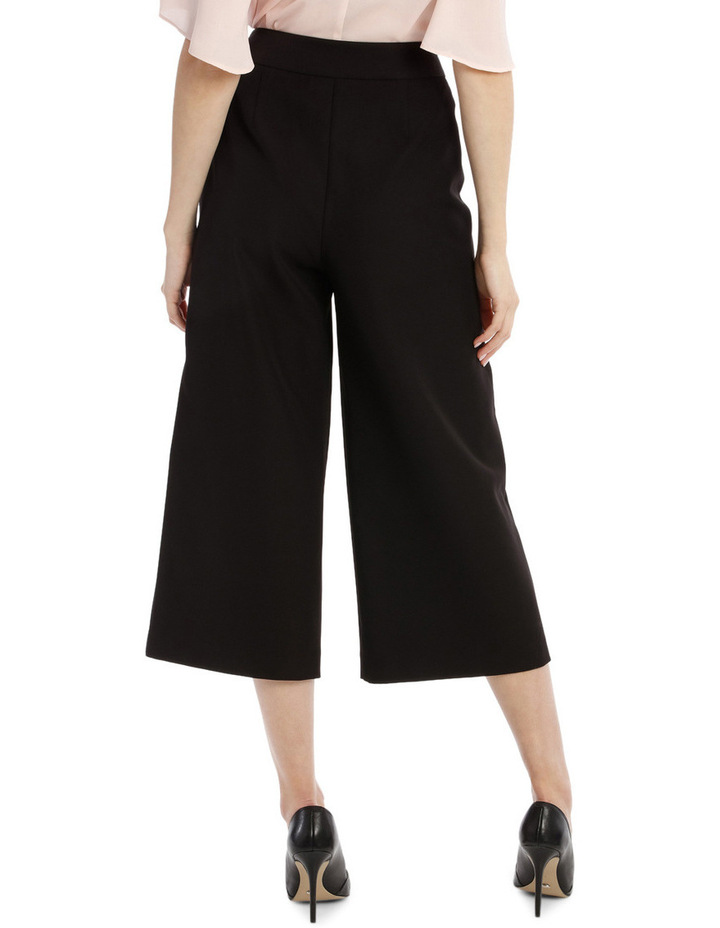 Structured Culotte Pant image 3