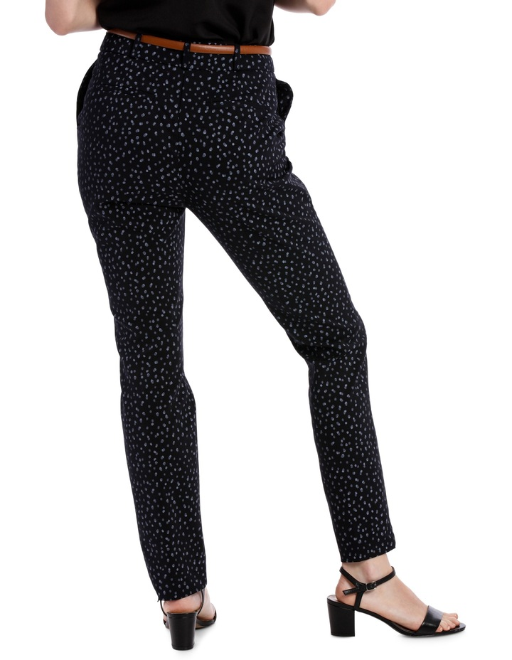 Chloe Belted Smart Pant - Smudge Spot image 3