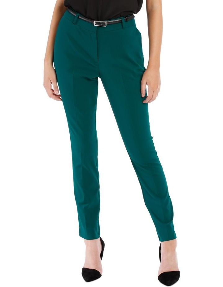 Emerald Chloe Belted Smart Pant image 1