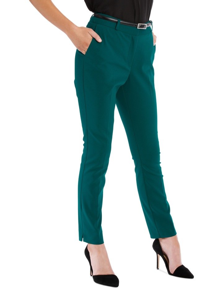 Emerald Chloe Belted Smart Pant image 4