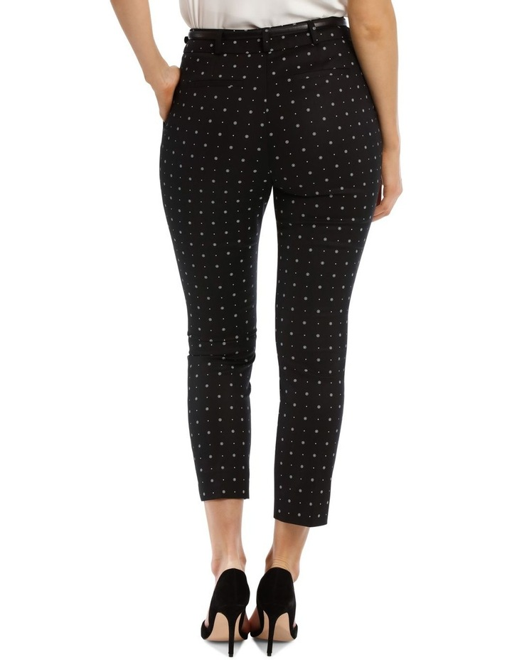 Circles Chloe Cropped Belted Pant image 3