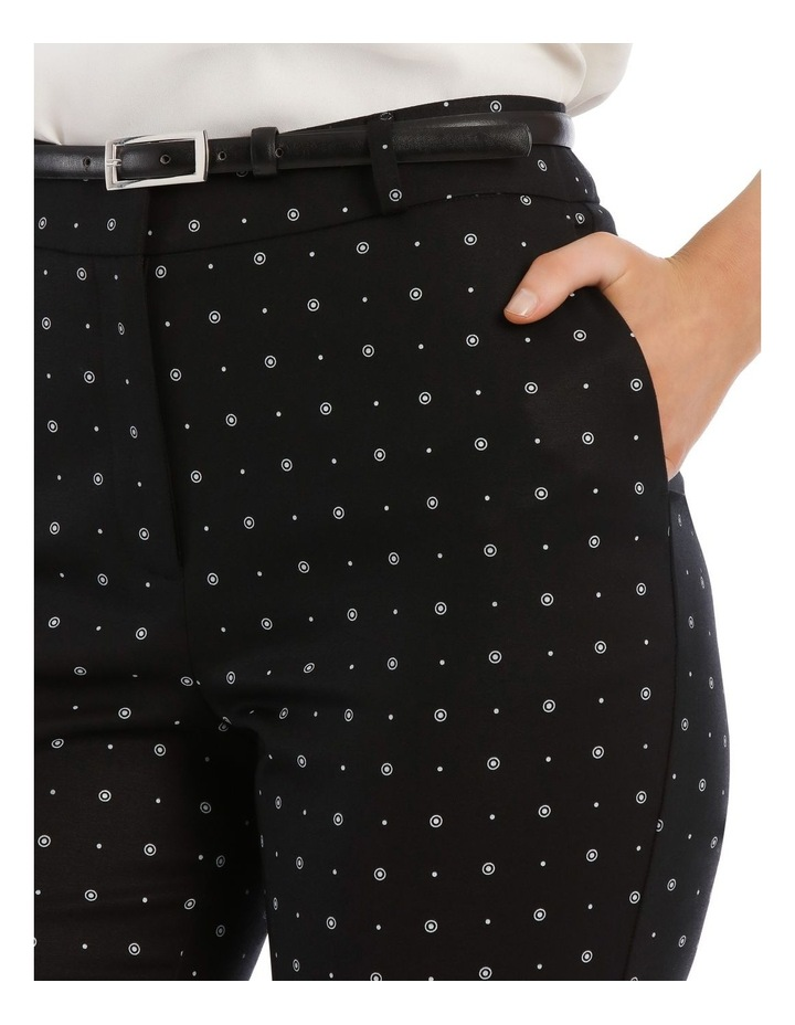 Circles Chloe Cropped Belted Pant image 4