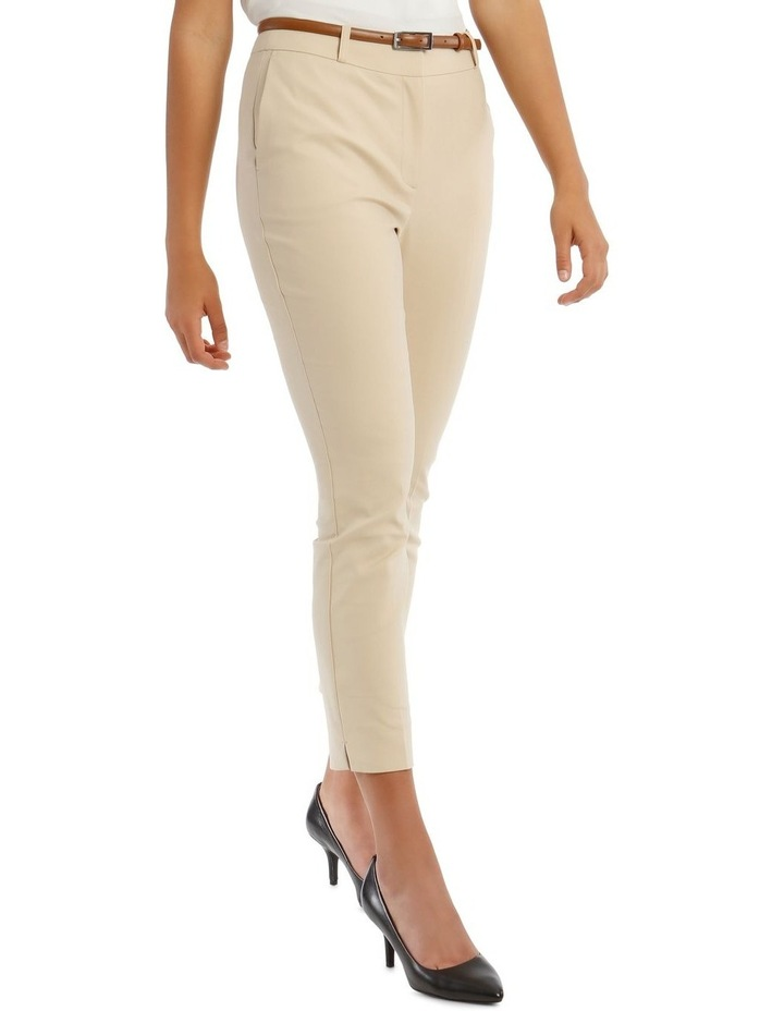 Chloe Cropped Belted Pant image 2