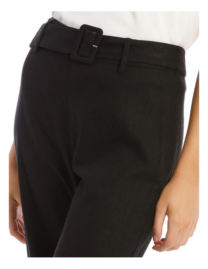 Belted Linen Culotte image 4