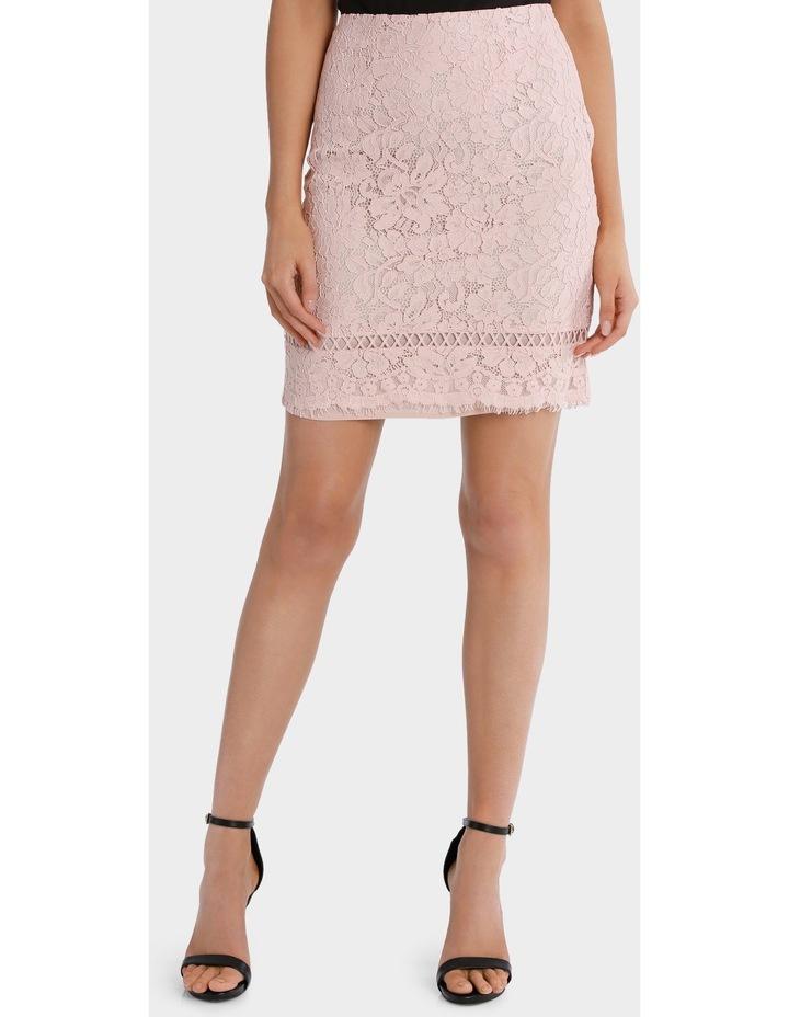 lace pencil skirt image 1