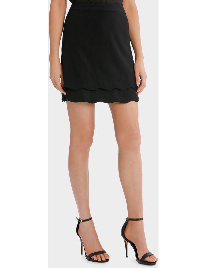 scalloped hem skirt image 2