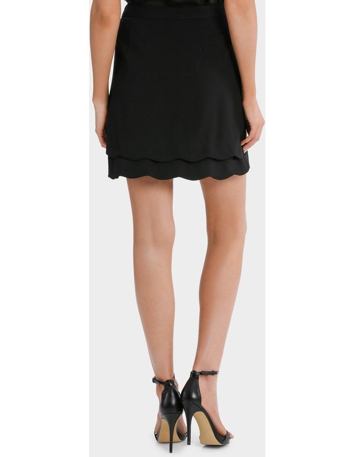 scalloped hem skirt image 3