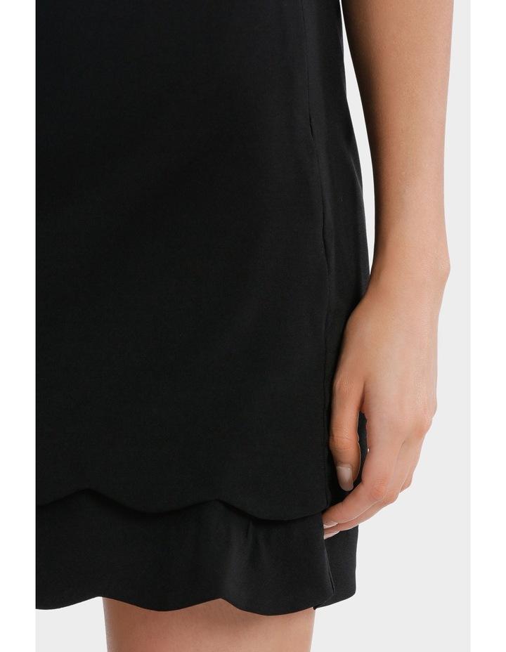 scalloped hem skirt image 4