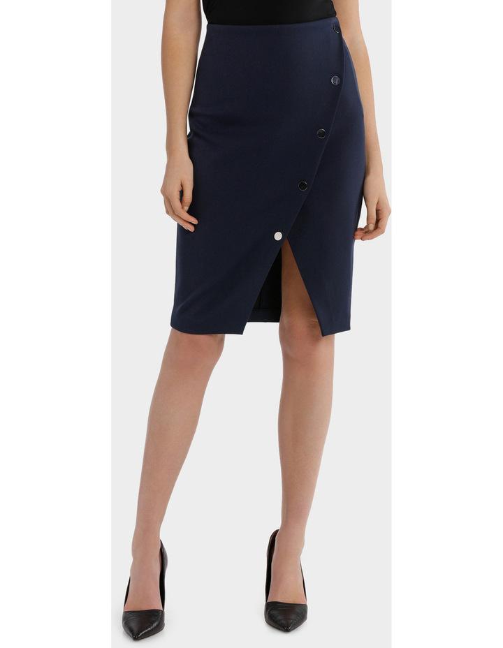 Asymmetrical Button Up Skirt image 1