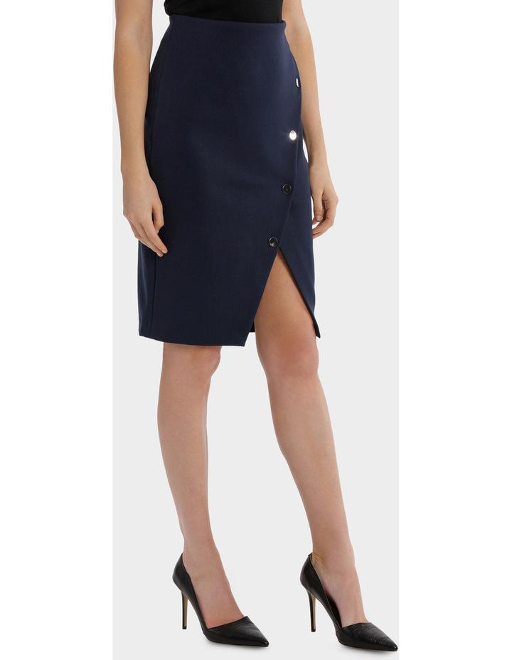 Asymmetrical Button Up Skirt image 2