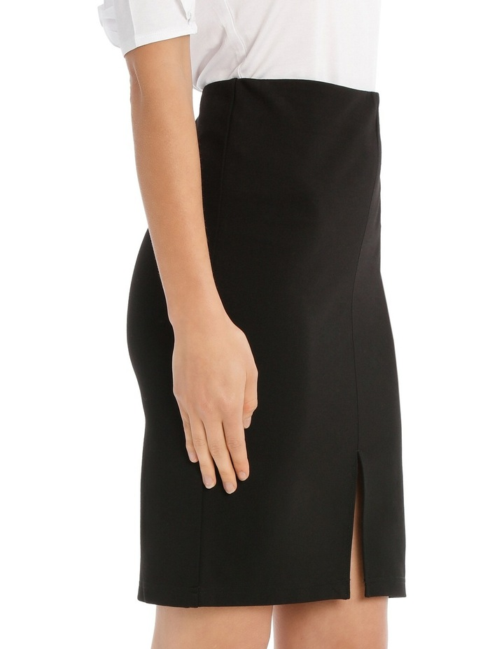 New York Pencil Skirt With Front Split image 2