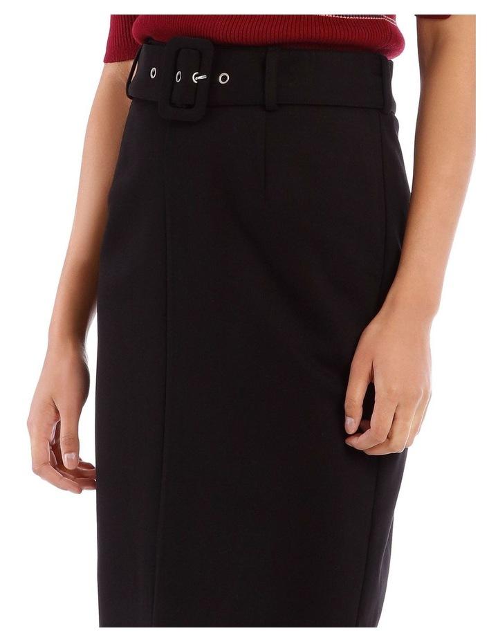 Self Belt Pencil Skirt image 4