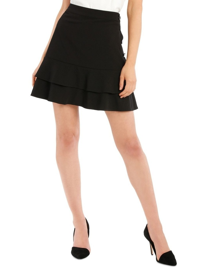 Button Side Tiered Skirt image 1