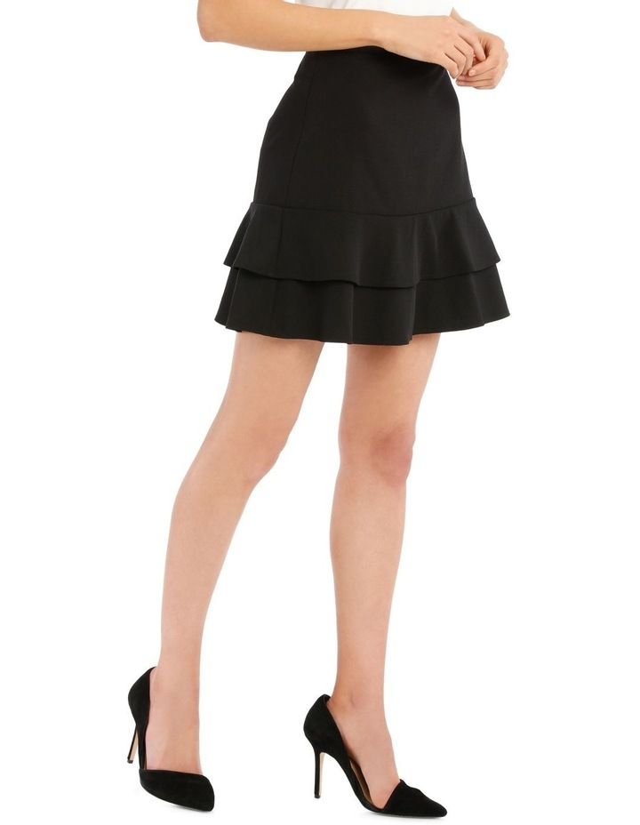 Button Side Tiered Skirt image 2