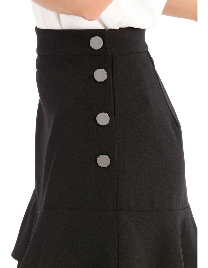 Button Side Tiered Skirt image 4