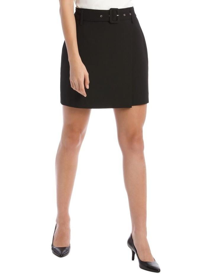 Belted Mini Skirt image 1