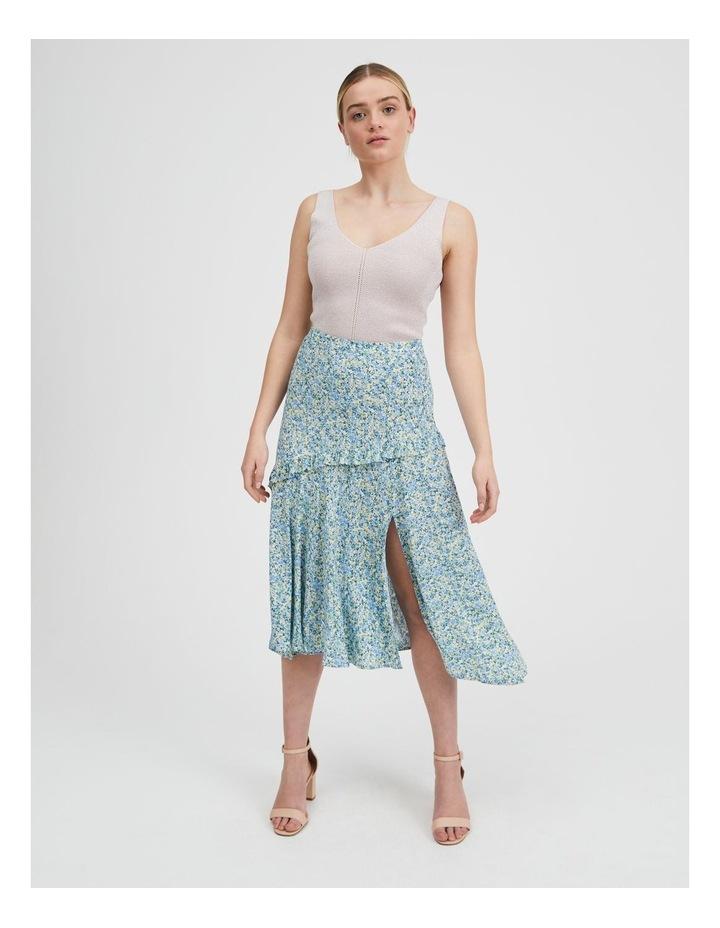 Asym Split Front Midi Skirt image 1