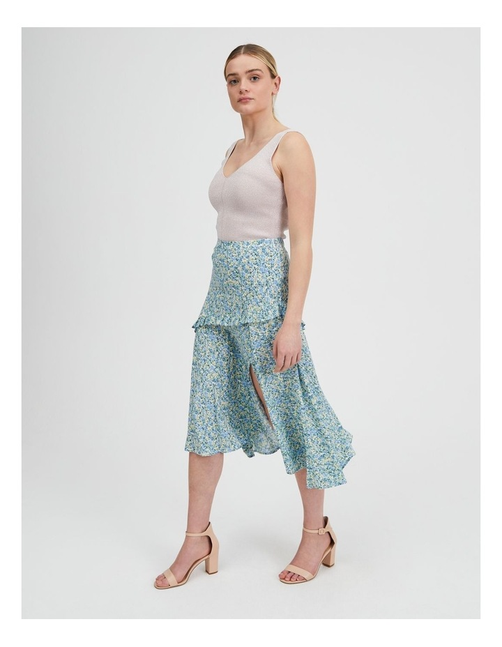 Asym Split Front Midi Skirt image 2