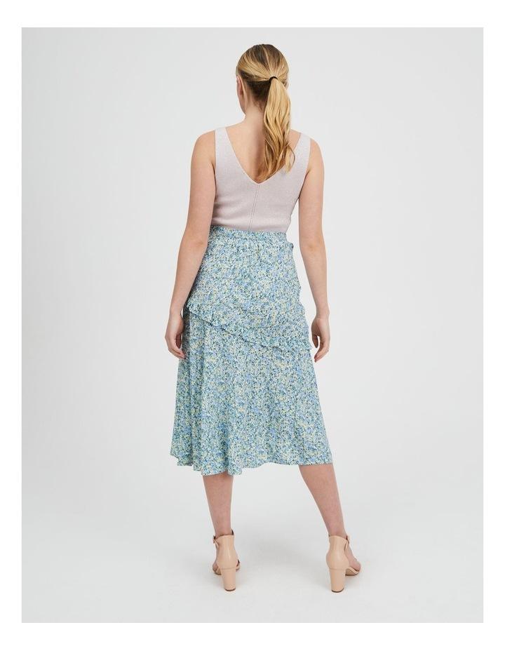 Asym Split Front Midi Skirt image 3