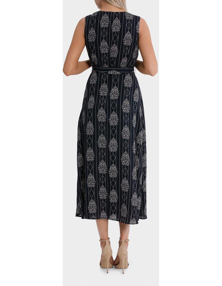 maxi wrap dress - romantic paisley image 3