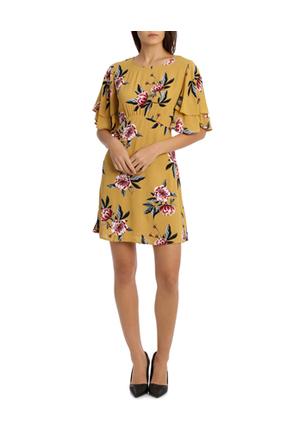 Tokito Petites - Flounce Sleeve Dress - Peony Bloom