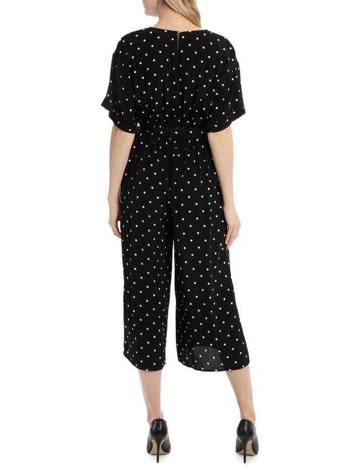 Wide Leg Tie Waist Jumpsuit - Spot image 3